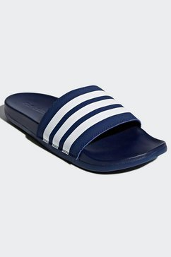 adidas badslippers adilette comfort blauw