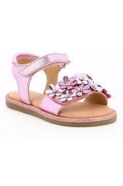 mod8 sandalen parlotte met 2 klittenbandsluitingen roze