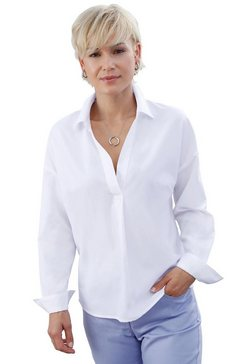 casual looks blouse in casual oversized model wit