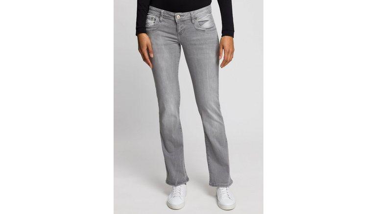 LTB bootcut jeans Valerie met uitlopende pijpen en lage taillehoogte in 5-pocketsstijl