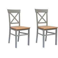 """home affaire stoel """"tatra"""" grijs"""