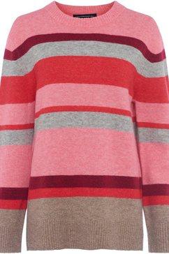 french connection trui met ronde hals »fc-kahlo stripe« multicolor