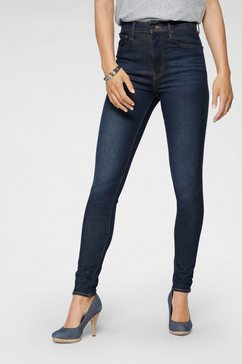 levi's skinny fit jeans mile high super skinny high waist blauw