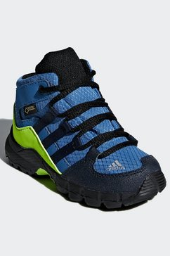 adidas terrex wandelschoenen terrex mid gore-tex foundation unisex blauw