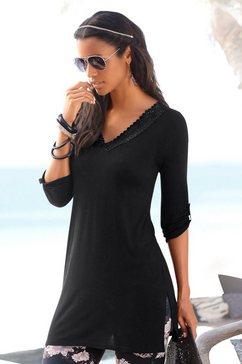 lascana lang shirt zwart