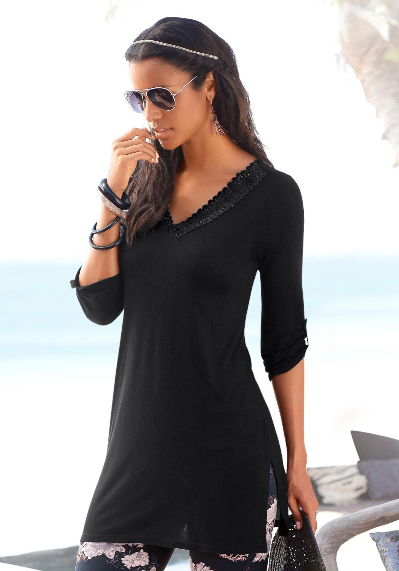 Lascana lang shirt nu online bestellen