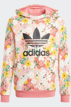 adidas originals hoodie »her studio london floral« roze