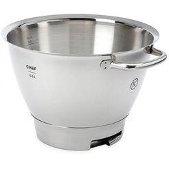 kenwood keukenmachineschaal chef titanium edelstalen mengkom kat711ss geschikt voor alle chef titanium keukenmachines van de kvc7000 - 7300 - 7400 serie zilver