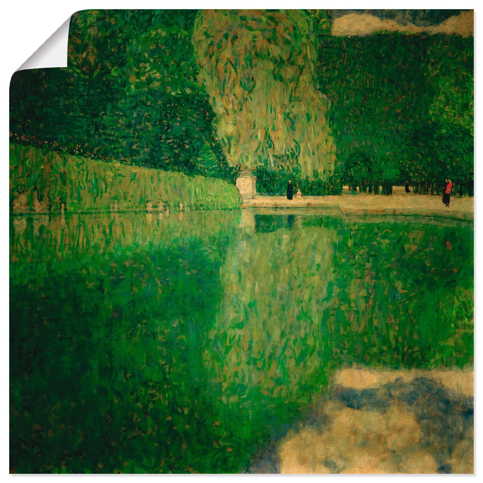 Artland Artprint Park van Schönbrunnen (Schönbrunner landschap) in vele afmetingen & productsoorten -artprint op linnen, poster, muursticker / wandfolie ook geschikt voor de badkamer (1 stuk) goedkoop op otto.nl kopen