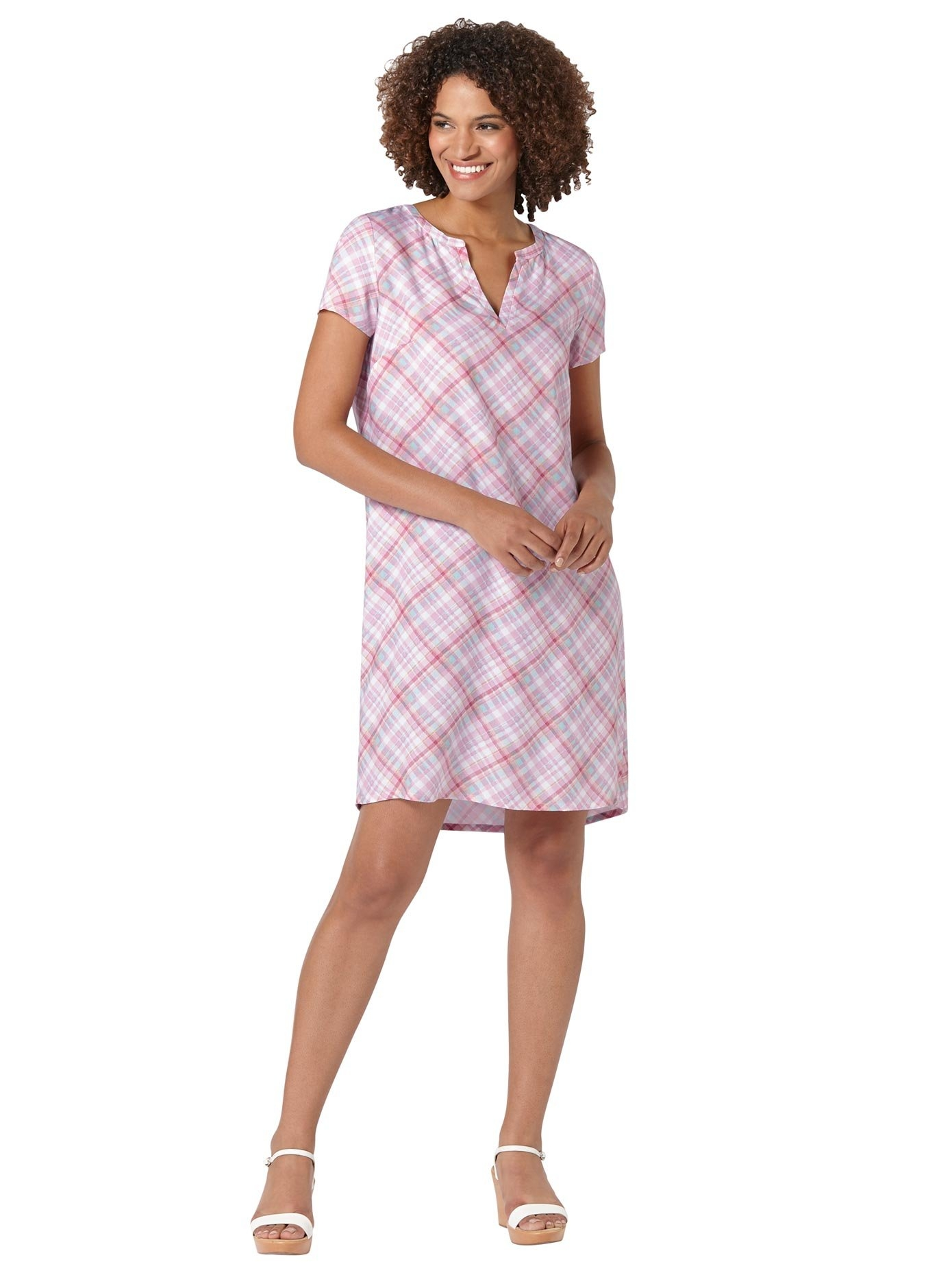 Casual Looks gedessineerde jurk Jurk - verschillende betaalmethodes