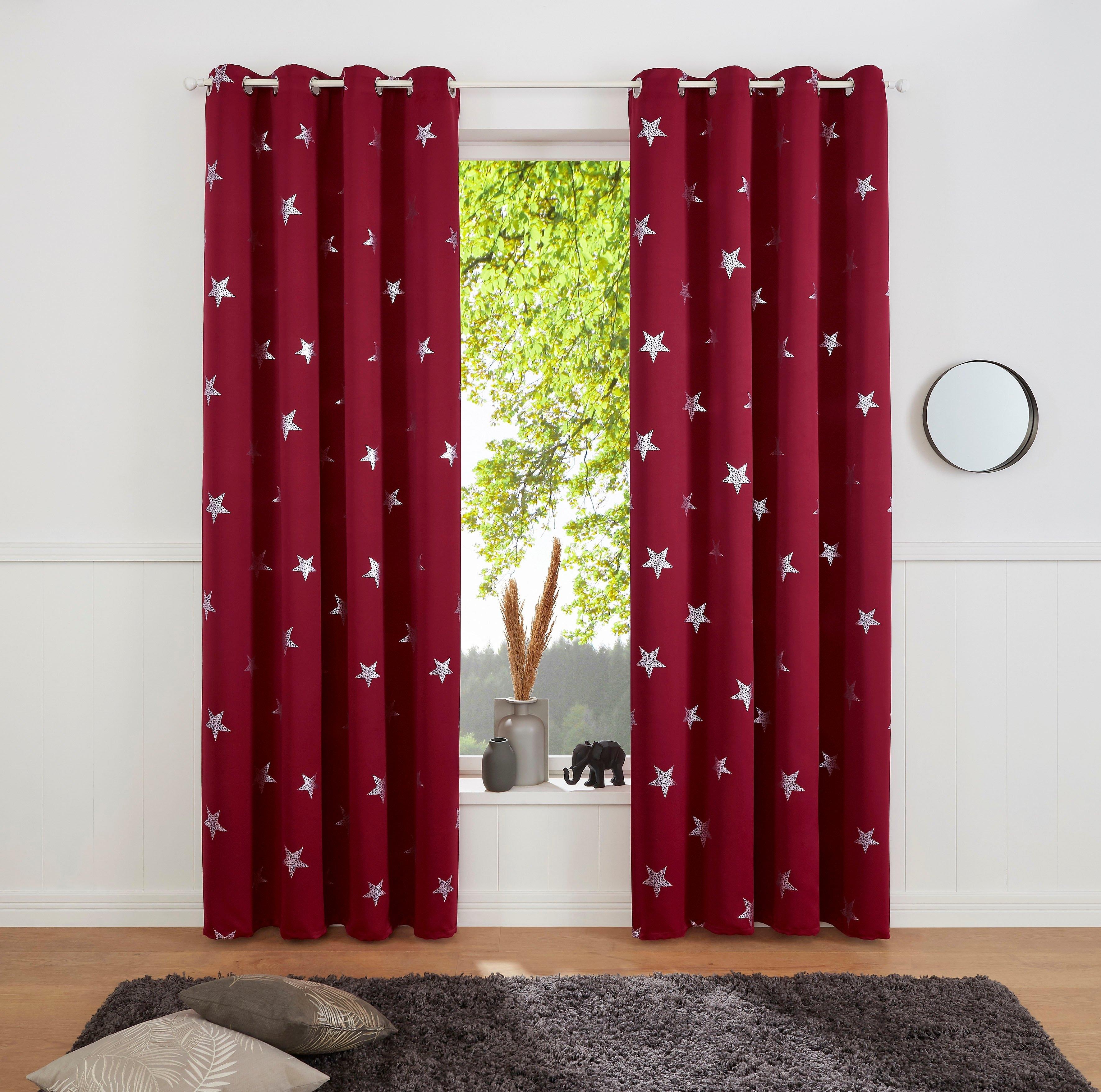 my home gordijn »Blackout Curtain With Foil Print Star« voordelig en veilig online kopen