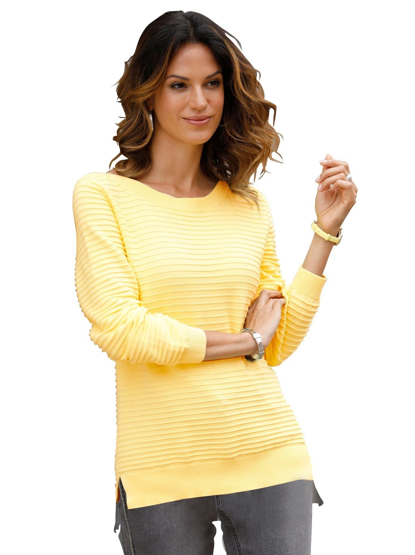 Classic Inspirationen Gebreide trui Trui met lange mouwen voordelig en veilig online kopen