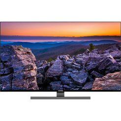 "telefunken led-tv d55v900m4cwh, 139 cm - 55 "", 4k ultra hd, smart-tv, 9.0, hdr10, dolby vision, 36 maanden lange termijn fabrieksgarantie zwart"