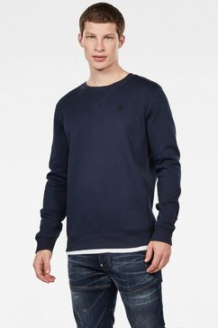 g-star raw sweatshirt »premium core pacior sweat« blauw