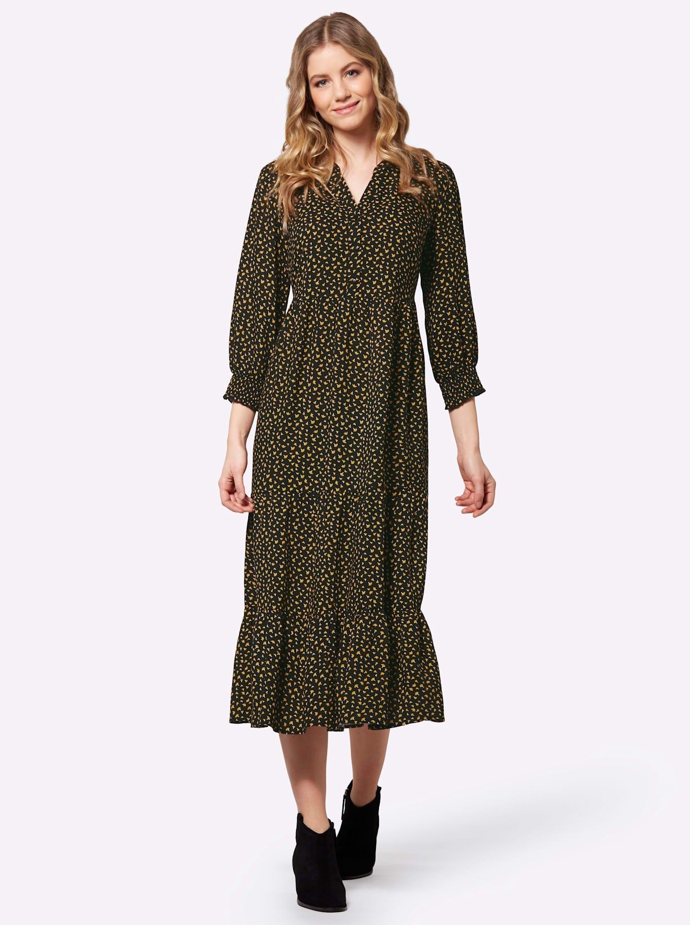 Classic Inspirationen Jurk in a-lijn Gedessineerde jurk bij OTTO online kopen