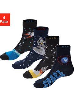 h.i.s sokken (4 paar) blauw