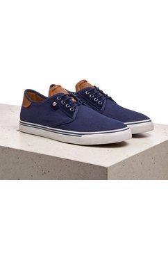 lloyd sneakers eldon met modieuze hielinzet blauw