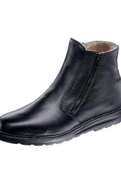 helix laarzen met ritssluiting zwart