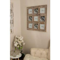 home affaire collagelijst »theresa« bruin