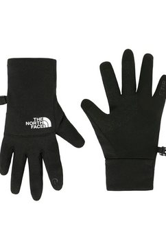 the north face fleece-handschoenen »etip« zwart