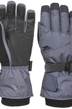 trespass skihandschoenen kinderen ski-handschoenen ergon ii grijs