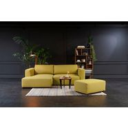 tom tailor hoekbank s »heaven style colors«, naar keuze met slaapfunctie en bedkist geel