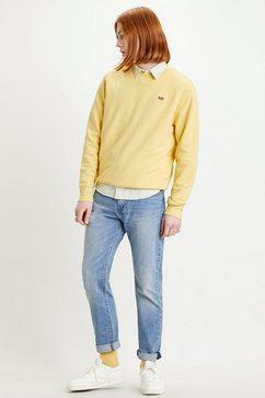 levi's sweatshirt geel