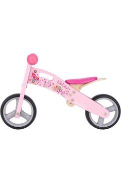 """bikestar loopfiets """"2-in-1"""", 7 inch roze"""
