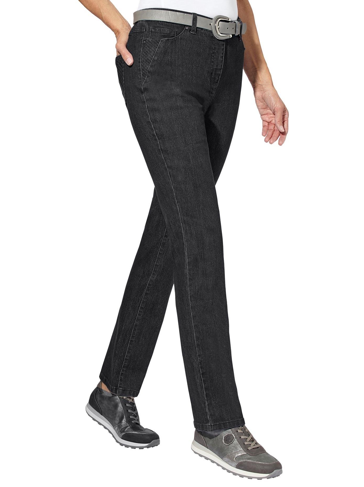 Op zoek naar een Casual Looks jeans met luxueus ruitborduursel? Koop online bij OTTO