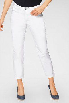 mac 7-8 jeans angela 7-8 cotton coole destroyed effecten wit