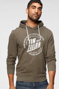 tom tailor hoodie groen