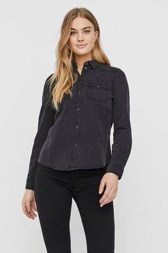 vero moda jeansblouse vmmaria zwart