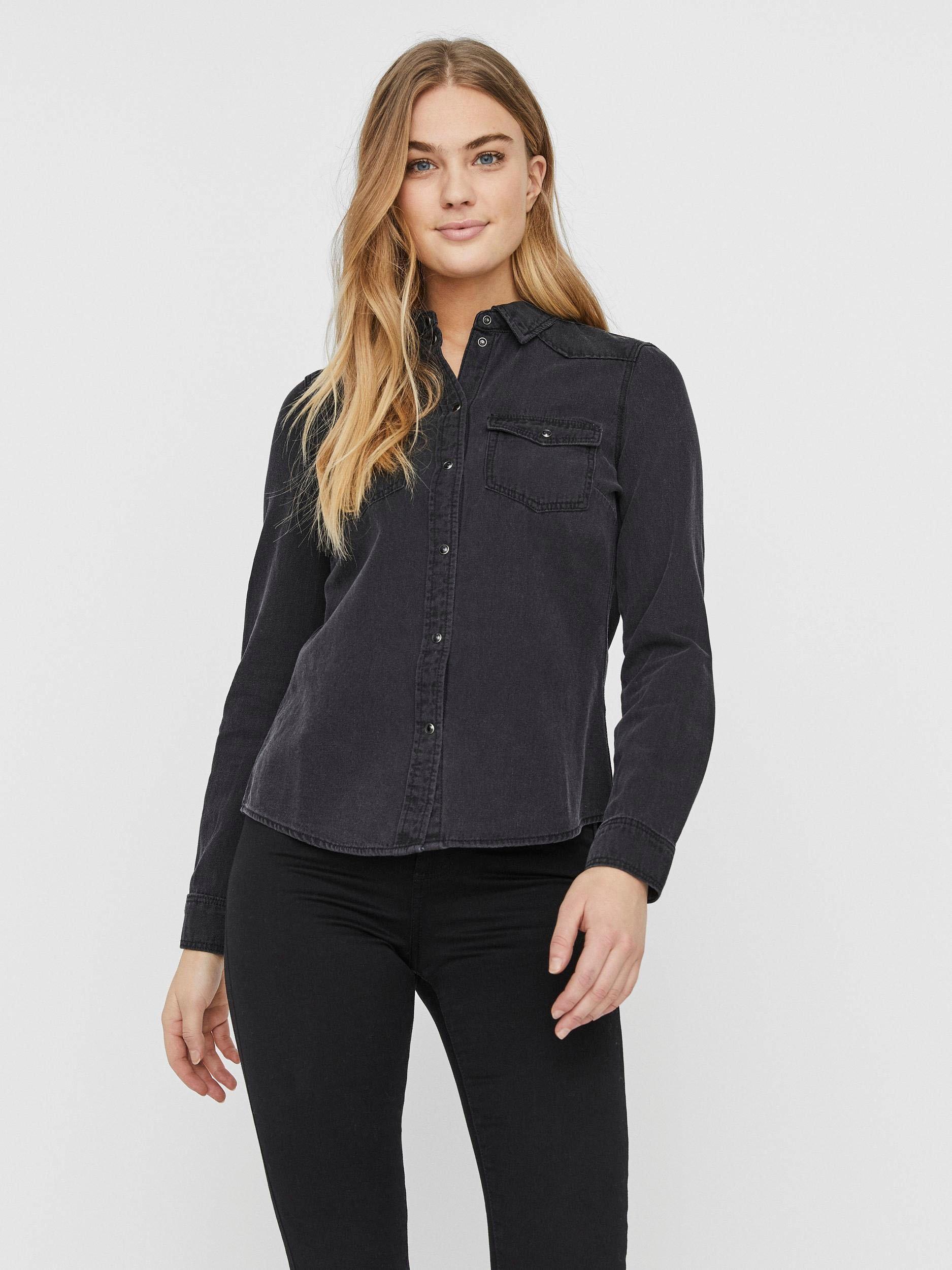Vero Moda jeansblouse VMMARIA online kopen op otto.nl