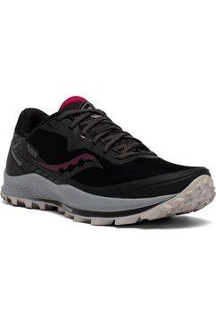 saucony runningschoenen »peregrine 11 gore-tex« zwart