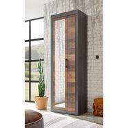 home affaire kledingkast brooklyn in een decoratieve frame-look grijs