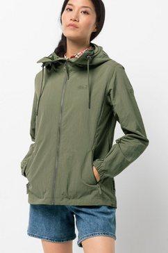 jack wolfskin outdoorjack lakeside jacket w groen
