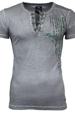 rusty neal t-shirt »a16784« grijs