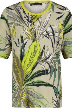 betty barclay shirt met ronde hals met tropical-print groen