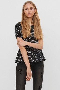 vero moda shirtblouse vmfie zwart