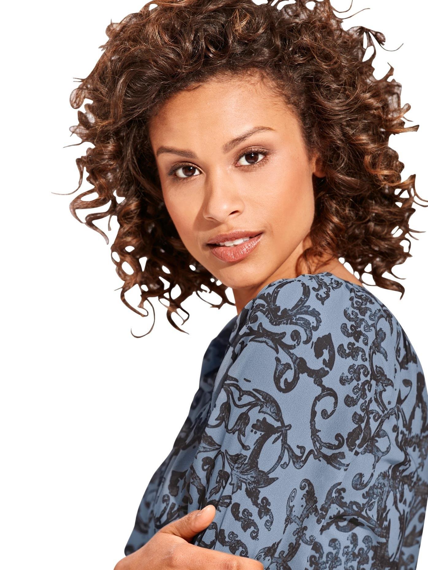 LINEA TESINI by Heine Gedessineerde blouse bestellen: 30 dagen bedenktijd