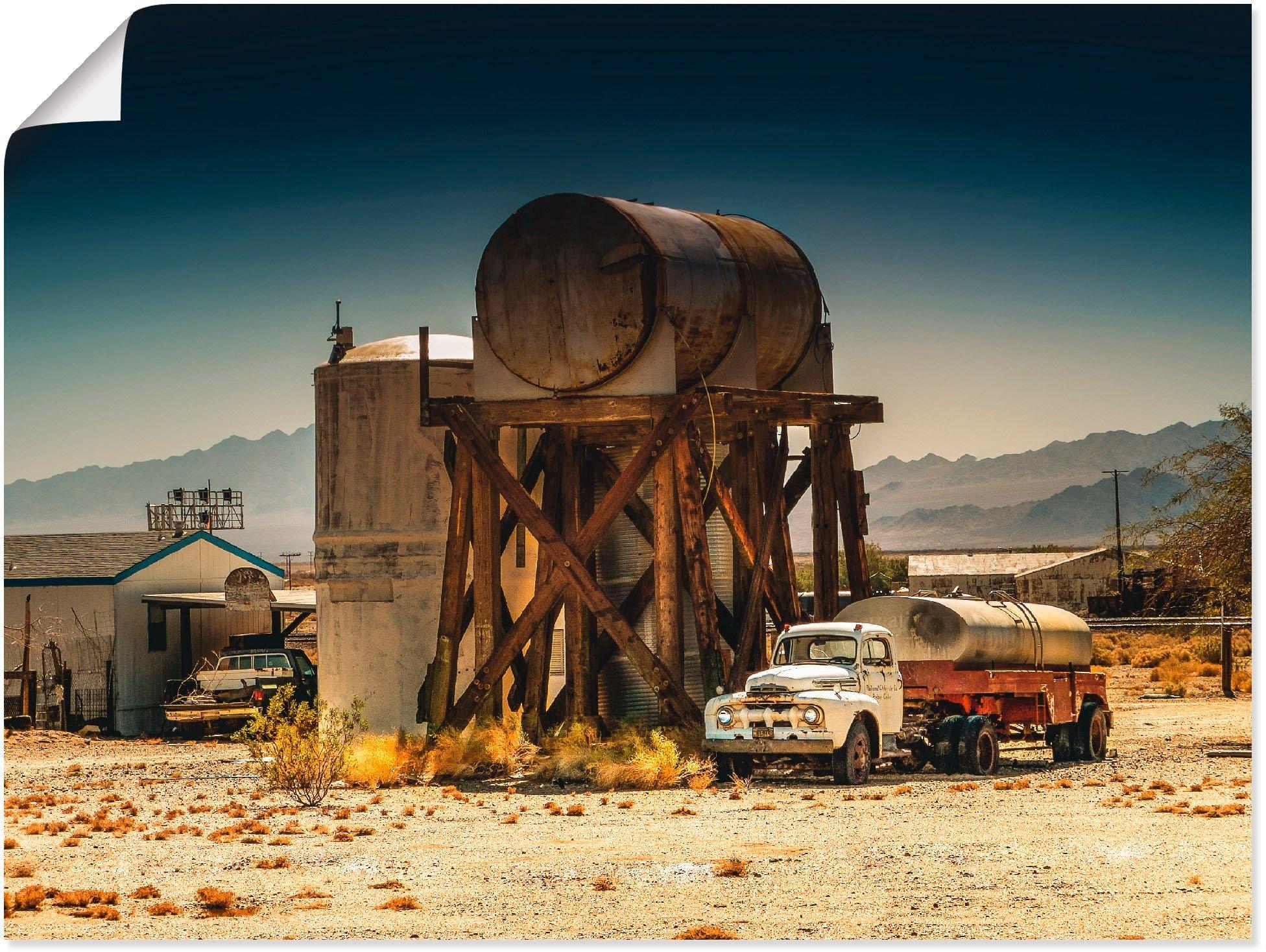 Artland artprint »Route 66 Kalifornien Amerika« goedkoop op otto.nl kopen