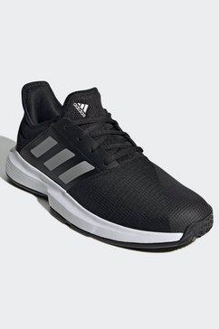 adidas performance tennisschoenen gamecourt zwart
