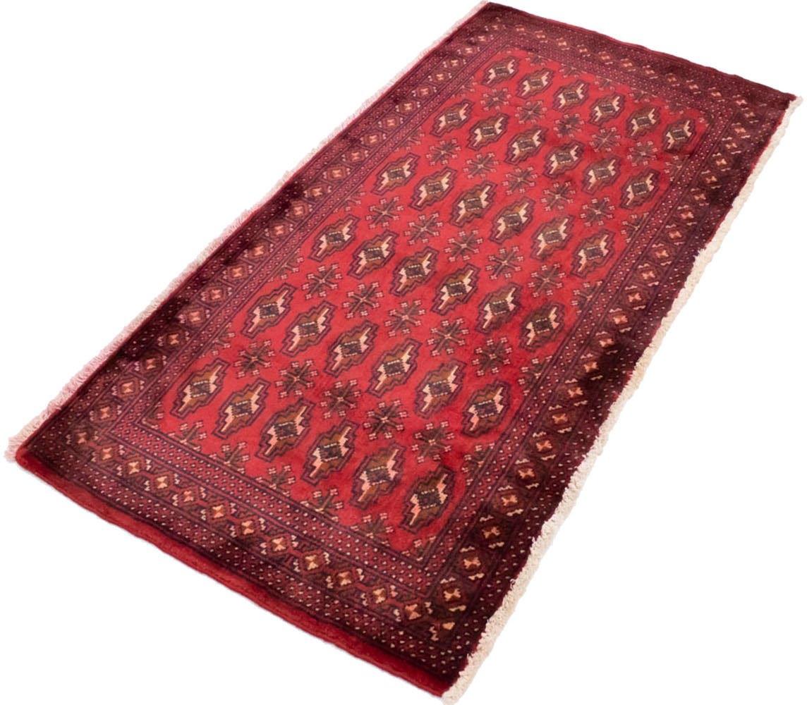 morgenland wollen kleed Turkaman Teppich handgeknüpft rot online kopen op otto.nl