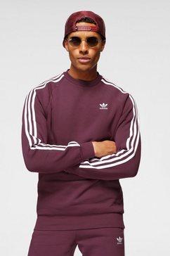 adidas originals sweatshirt 3-stripes crew paars