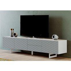 diventa tv-meubel corfu breedte 220 cm wit