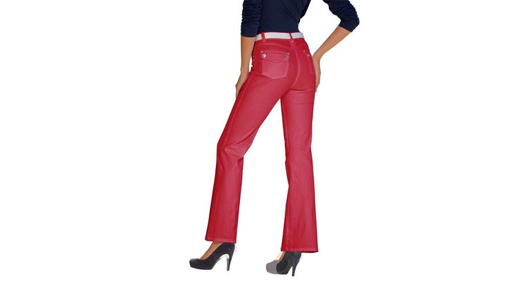 ASHLEY BROOKE by Heine bootcut jeans