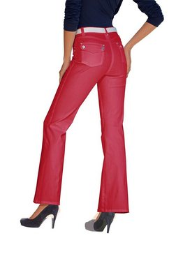ashley brooke by heine bootcut jeans rood
