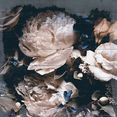 queence artprint op hout »felia« beige