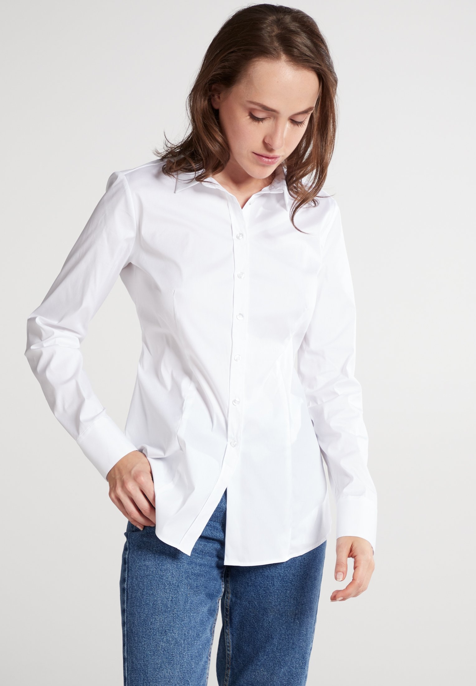 Eterna blouse met lange mouwen MODERN CLASSIC Lange mouwen blouse in de webshop van OTTO kopen